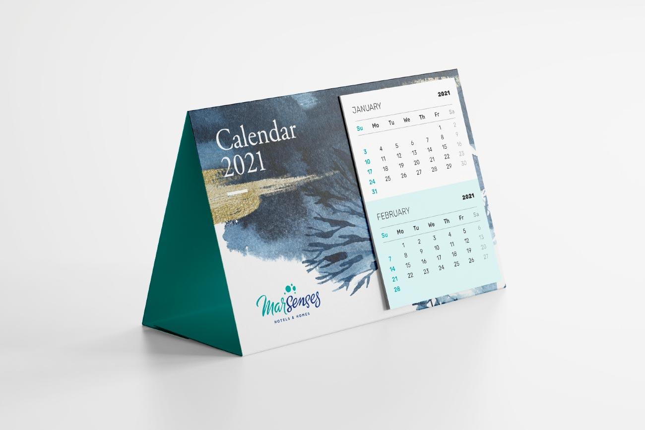 Collaterals Mar Senses - Calendario